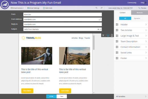 Marketo makes email 2.0 switch, adds Creative Cloud image editing, more
