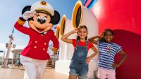 Minnie Mouse is the captain of all Disney cruises now
