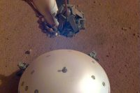 NASA's InSight lander may have recorded a marsquake