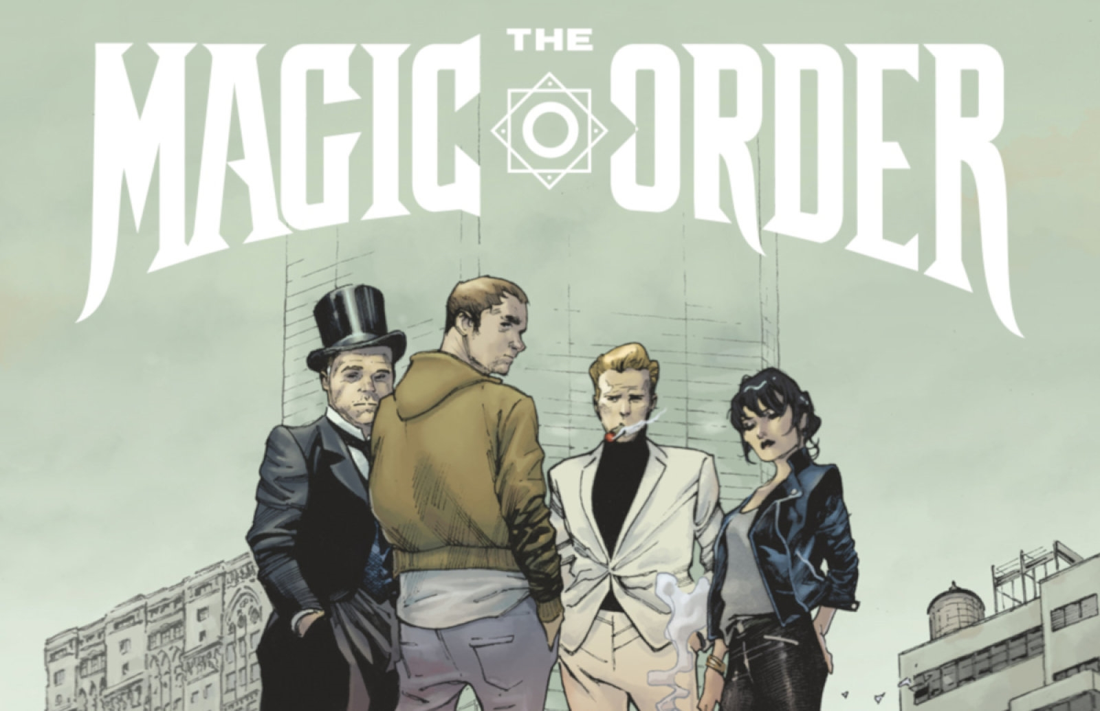 Netflix is turning Mark Millar's 'The Magic Order' into a series | DeviceDaily.com