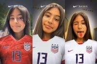 Nike latest Snapchat Lens shows support for USWNT