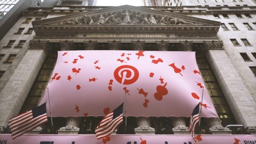 Pinterest stock plummets after its first earnings report comes up short