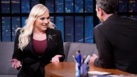 Seth Meyers grilling Meghan McCain is a masterclass on not letting someone off the hook