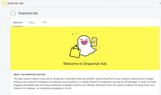 Shopify adds new Facebook, Snapchat ad buying options from the e-commerce platform