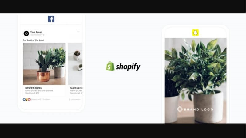 Shopify adds new Facebook, Snapchat ad buying options from the e-commerce platform | DeviceDaily.com