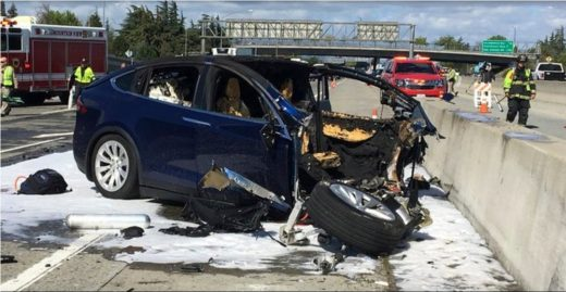 Tesla sued over fatal 2018 Model X crash with Autopilot engaged