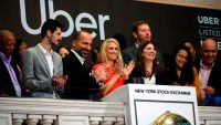 Uber went public, and a bunch of rich people got richer