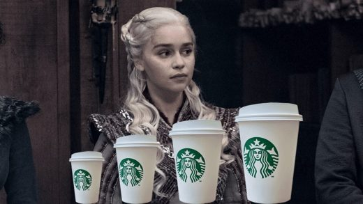 What's that coffee cup on Game of Thrones worth to Starbucks?
