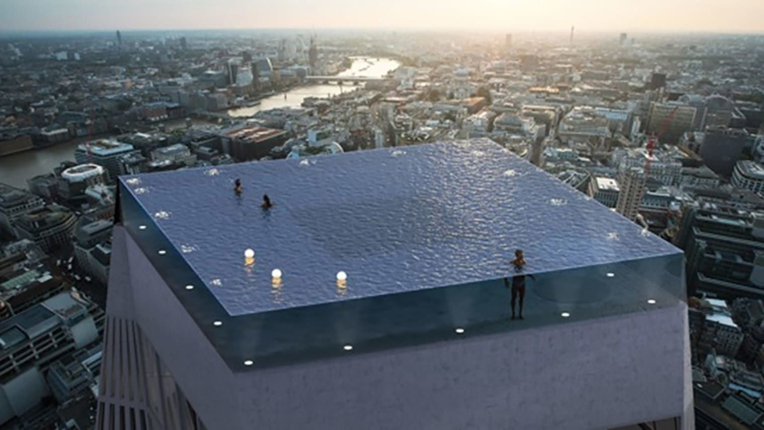 The world's first 360-degree infinity pool is coming to London | DeviceDaily.com