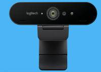 Logitech BRIO Webcam: Optimum Video Picture Quality for Video Conferences and Webinars