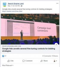 Google Unveils New Look; Facebook Ad Targeting Weakens