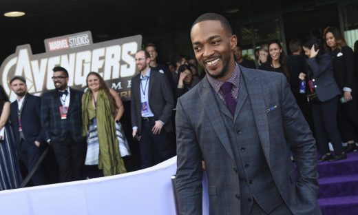 Anthony Mackie cast as a drone pilot in Netflix's 'Outside the Wire'