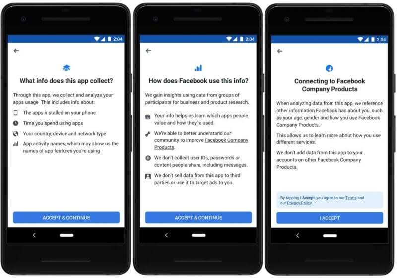 Facebook launches new market research app after pulling similar app in January | DeviceDaily.com