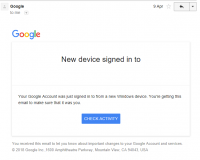 Gmail Sends Sign-In Alerts — By Mistake