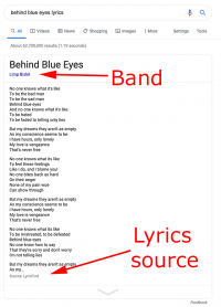 Google To Start Attributing Lyrics In Search To Third Parties
