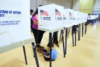 Major voting machine maker backs away from paperless models