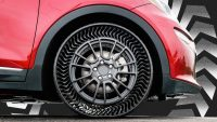 Michelin's ingenious new tires ensure you'll never get a flat again