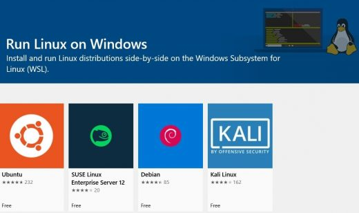 Microsoft's built-in Linux kernel for Windows 10 is ready for testing