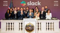 NYSE floor dispatch: Slack's non-IPO is off to an impressive start