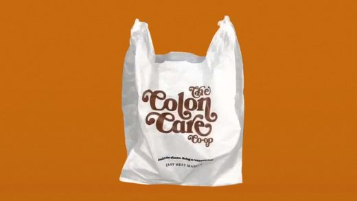 These hilarious plastic grocery bags will teach you to never forget your tote
