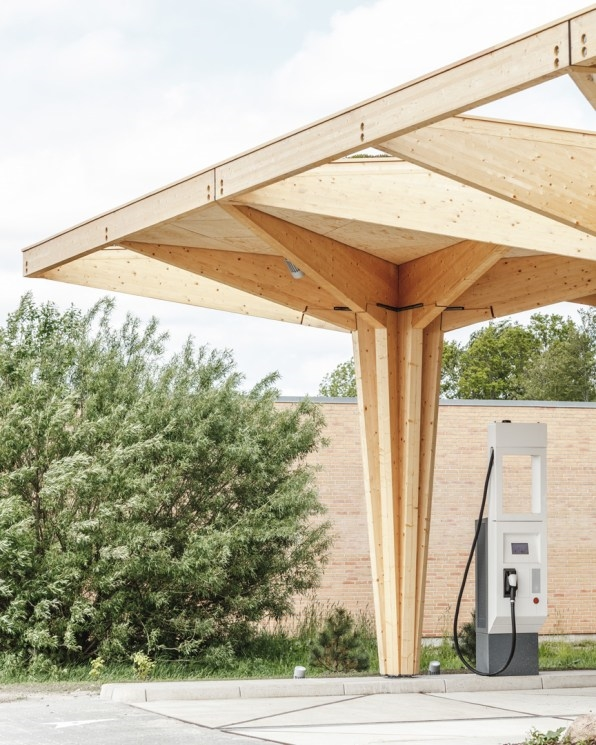 These beautiful electric charging points are the gas station of the future   DeviceDaily.com