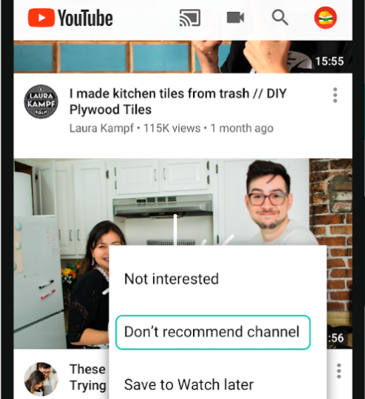 After Heat For Objectionable Videos, YouTube Lets Users Control Recommendations