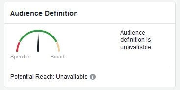 Facebook brings back reach estimates for Custom Audiences