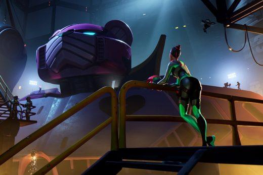 'Fortnite' winds down season nine with a giant-sized battle