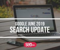 Google June 2019 Core Search Algorithm Update