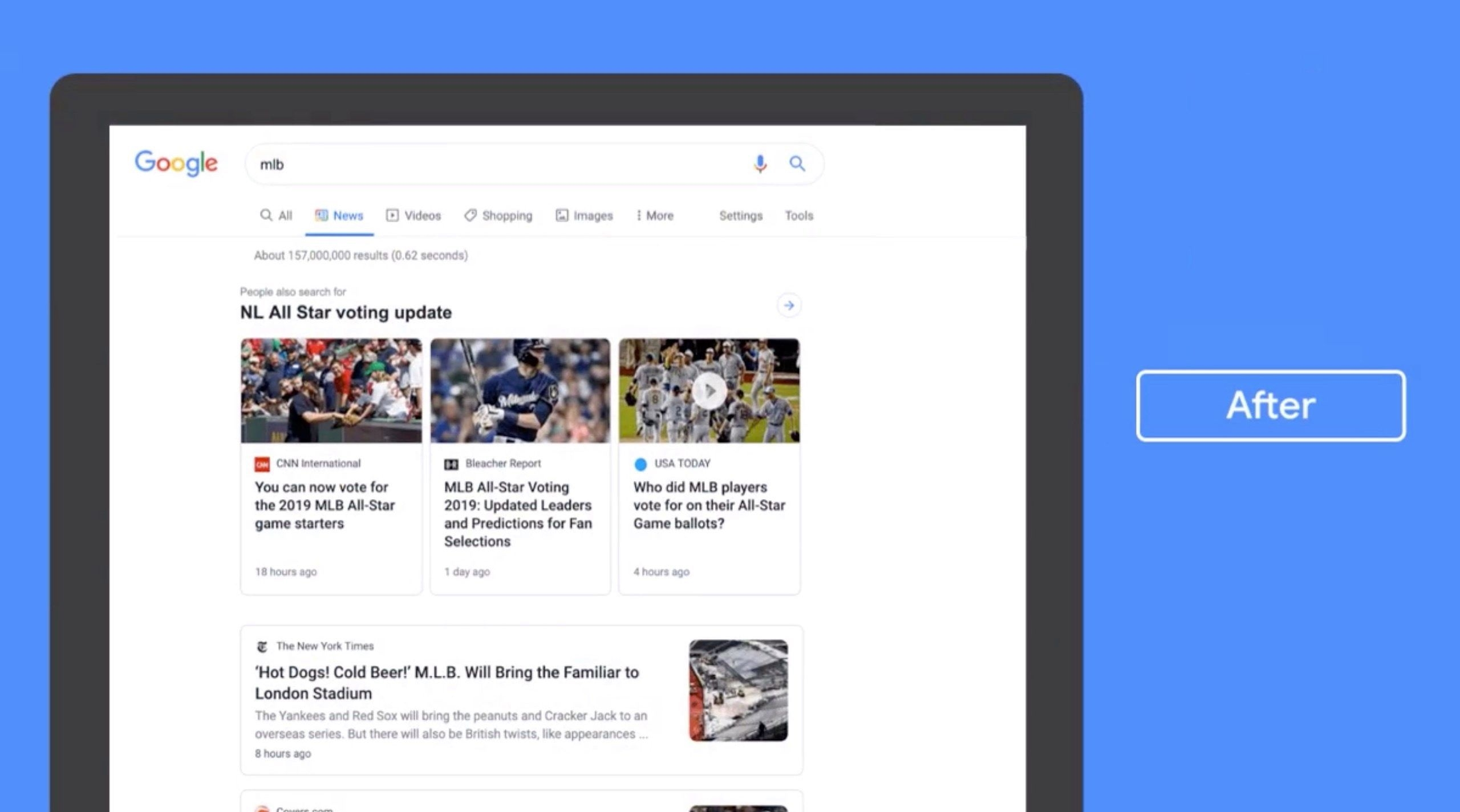 Google to roll out redesigned News tab | DeviceDaily.com