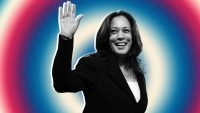 Kamala Harris did not show up to the Democratic debate to play games