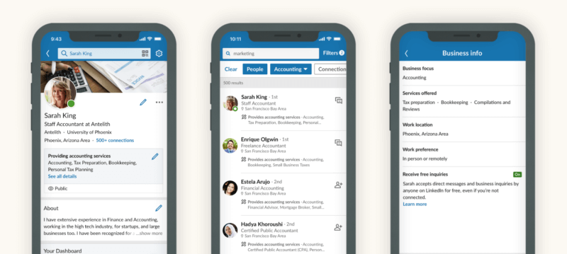LinkedIn rolls out new feature to help SMBs promote their service offerings | DeviceDaily.com