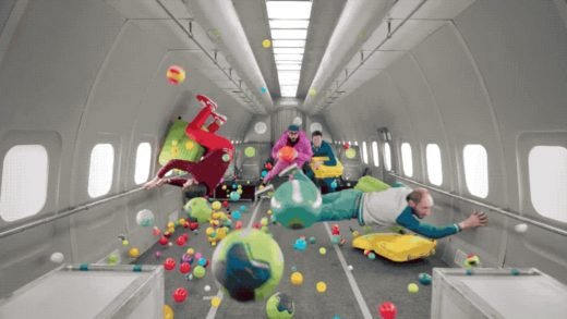 OK Go is helping these kids make art in outer space