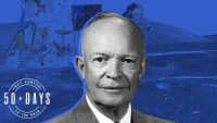 The race to the Moon was so unpopular at one point, President Eisenhower called JFK 'nuts'