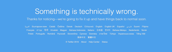 Twitter suffers global crash on White House Social Media Day | DeviceDaily.com