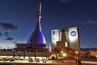 Watch NASA test the Orion module's launch abort system at 7AM