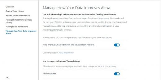 Amazon's new opt-out keeps people from 'reviewing' your Alexa recordings