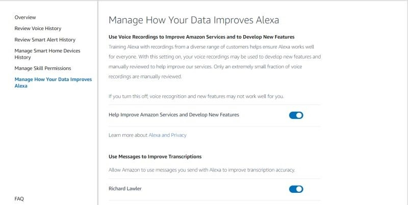 Amazon's new opt-out keeps people from 'reviewing' your Alexa recordings | DeviceDaily.com