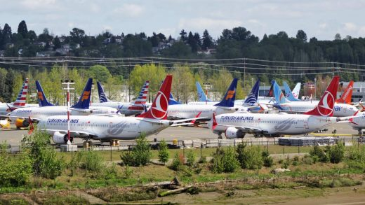 Boeing posts biggest-ever earnings loss after 737 Max grounding