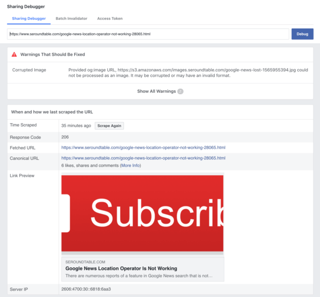 Does Facebook have a problem with HTTPS URLs in posts with images? | DeviceDaily.com