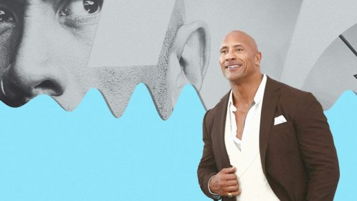 Dwayne Johnson faces off against Jason Momoa, Will Smith—and Gwyneth Paltrow?—in the bottled water wars with new Voss deal