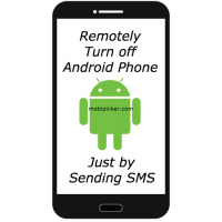 How to Remotely Turn Off Android Phone by Sending SMS