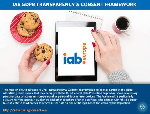 IAB Europe, IAB Tech Lab release revised GDPR-consent framework