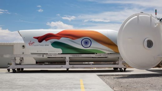India is set to become home to the world's first hyperloop system
