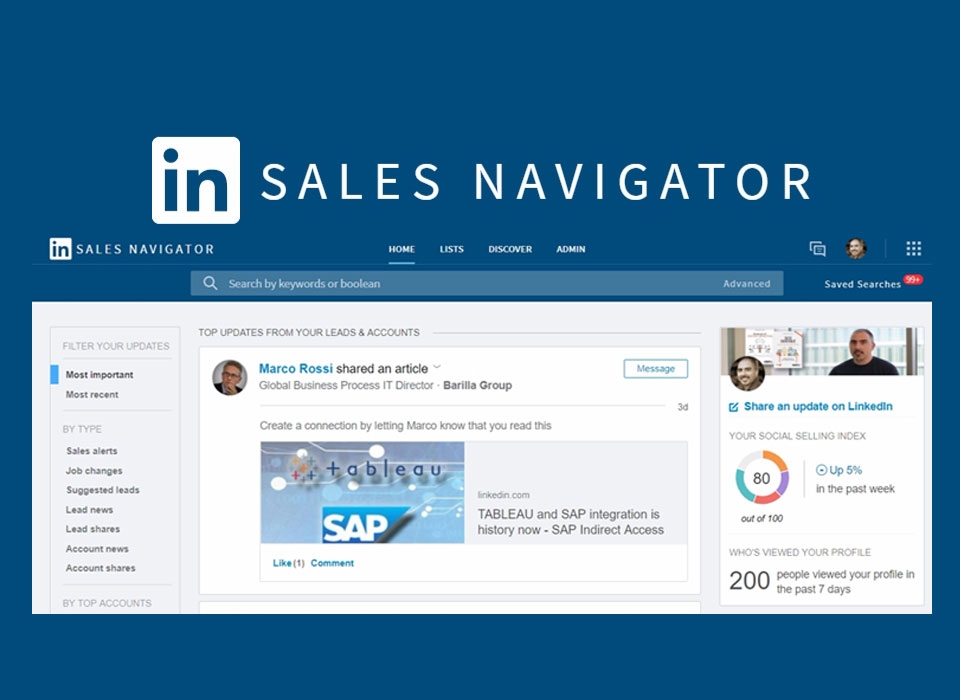 LinkedIn Sales Navigator will now surface more content for sales teams to share | DeviceDaily.com