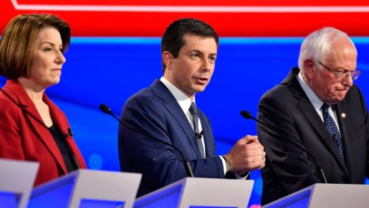 Mayor Pete Buttigieg wins the debate after Joe Biden's flubbed line becomes PeteforAmerica.com