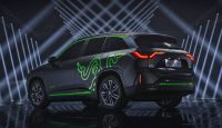 Razer's electric SUV is decked out in tacky lights, of course