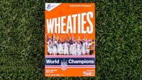 Serena Williams helped put USWNT soccer champs on a Wheaties box