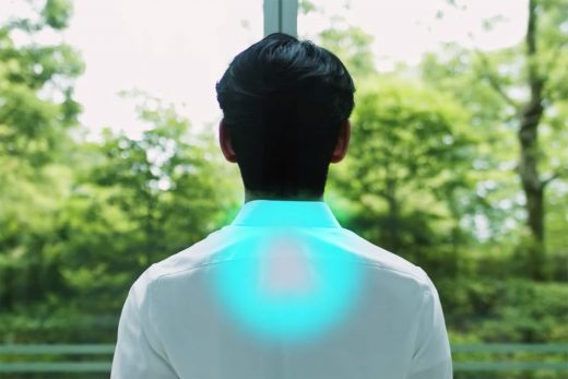 Sony is crowdfunding a wearable air conditioner