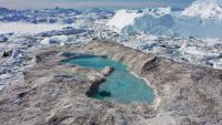 These stunning images of Greenland's melting ice are a bleak depiction of a climate tragedy